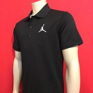 Nike Air Jordan polo shirt men's small